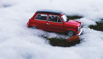 Nettoyage voiture miniature